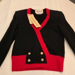 Castleberry London Vintage 2 piece Knit with tags